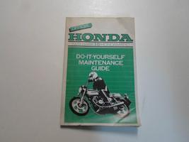 1978 Honda Hawk I II Hondamatic Do it Yourself Maintenance Guide Manual WORN - $89.05