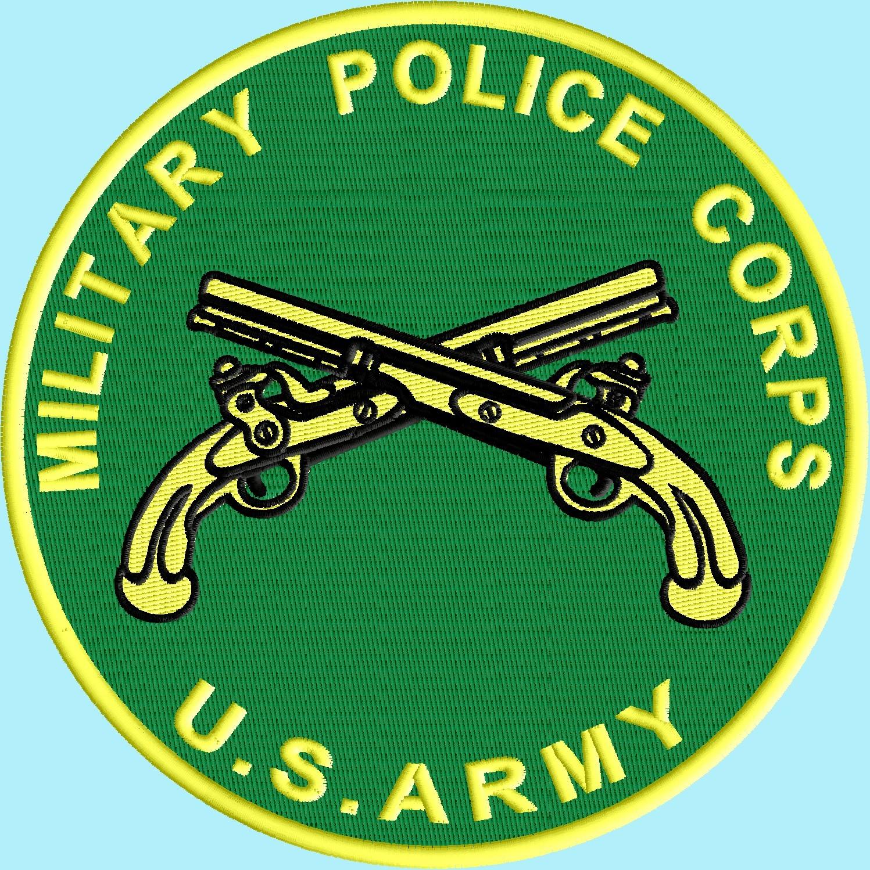 Cool Military Police Symbol