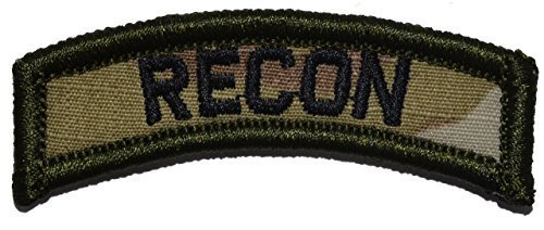 Recon Tab Military Patch / Morale Velcro and 50 similar items