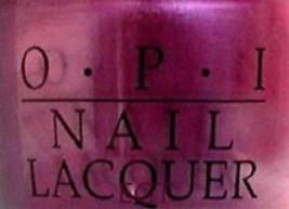 OPI Fee Fi Fo Plum NL B19 Nail Polish