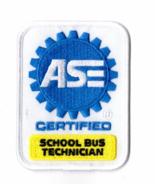 ASE Certified School Bus Technician Patch New Automotive Gas Mechanic Ho... - $24.99