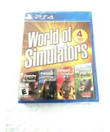 World of Simulators! PlayStation 4 Forestry Construction Firefighters Fa... - $16.99