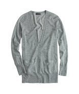 J.Crew Classic Merino Wool Long Cardigan Sweater (2X-Large) - $58.14