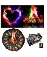 15g Magical Rainbow Color Campfire Bonfire Party Magic Flame 4 Halloween... - $9.99