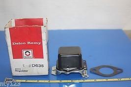 69 70 Delco Remy D635 Voltage Regulator 1962 1... - $179.00