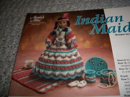 Crochet Indian Maiden Doll Dress Pattern - $5.00