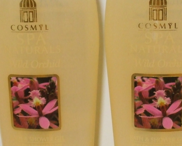 Cosmyl SPA Naturals 2 New Wild Orchid Bath Shower Gel 8.4 oz