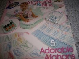 Crochet 'n' Weave Baby Afghans & Bibs - $5.00