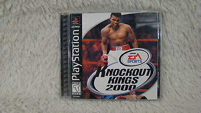 1999 Sony Playstation 1 - EA Sports Knockout Kings 2000 Video Game