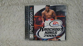 1999 Sony Playstation 1 - EA Sports Knockout Kings 2000 Video Game - $3.95