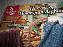 Crochet Harvest of Homespun Afghans - $8.00