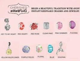 Avon Cherished Memories Charms - $9.99