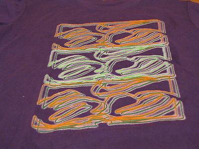 Boys Nike small 8 T shirt 6.0 skate NEW youth club purple soft material 975399