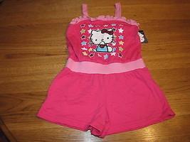 Girls Hello Kitty Romper 4 Cer Stars NWT HK59081 28.00^^ - $14.84