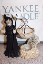 NEW Grim Reaper Death Warmed Over 2011 YANKEE CANDLE Boney Bunch Tart Wa... - $85.49