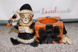 NEW Yankee Candle BONEY BUNCH 2011 Santa's Christmas Elf Tealight Holder - $37.99