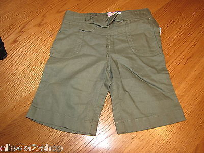 Primary image for Roxy Teenie Wahine girls 12 M month baby Super Hero Crop PT Olive Green NWOT *^