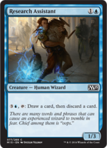Magic The Gathering-Magic 2015 Core Set-Research Assistant - $0.05