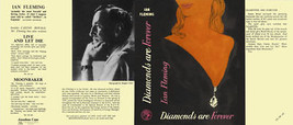 Fleming-Fac. DJ for 1st UK ed. of DIAMONDS ARE FOREVER - $21.56