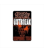 Zombie Outbreak Collectible Vinyl Magnet - $4.99