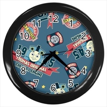 Thomas Custom Black Wall Clock - $19.95