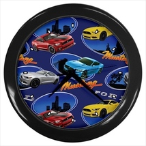 Mustangs Custom Black Wall Clock - $19.95