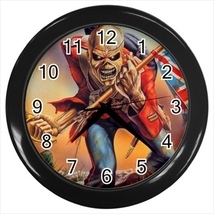 The Trooper Custom Black Wall Clock - $19.95