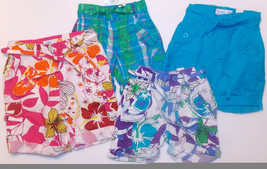 The Children's Place Girls Shorts Various Patterns Sizes 6-8M, 12M, 24M NWT - $8.44