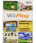 Wii Play [Nintendo Wii] - $3.83