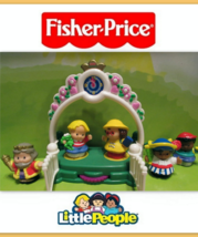 EUC Fisher Price Little People Mixed Lot Castle... - $12.99
