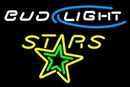 Bud Light Texas Stars Neon Sign - $799.00