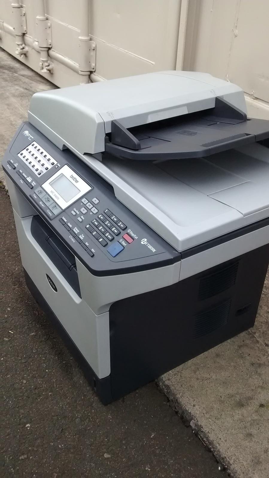 brother mfc 8460n multifunction laserjet printer copiers. Black Bedroom Furniture Sets. Home Design Ideas