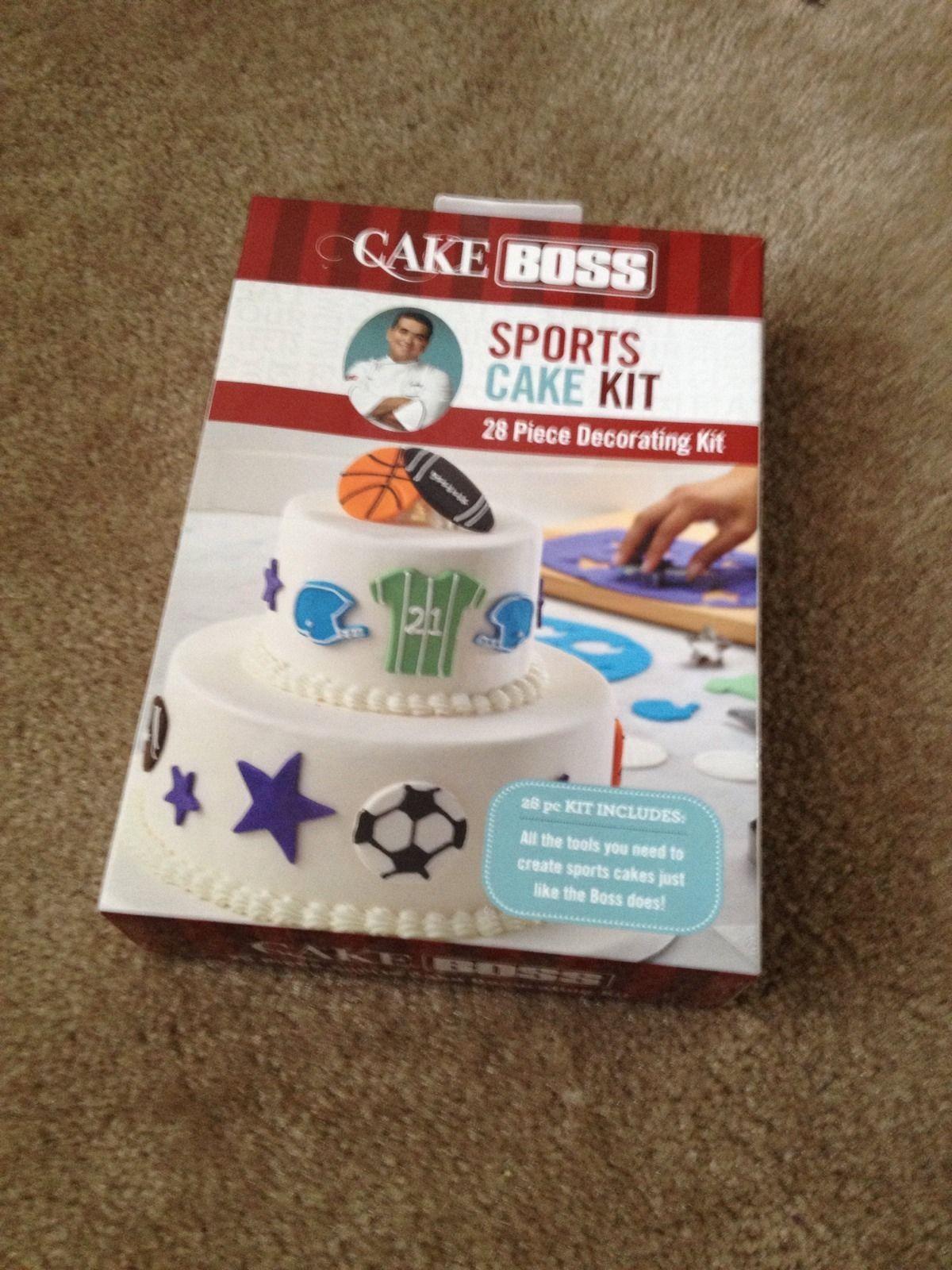 Cake Boss Decorating Tools Sports Cake Baseball Basketball ...