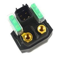 AHL Motorcycle Parts Starter Solenoid Relay Lgnition Key Switch for Suzuki AN... - $14.95