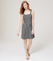 Ann Taylor LOFT Tank Dress Sundress M L Mixed S... - $34.95