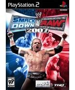 WWE SmackDown vs. Raw 2007 - PlayStation 2 [Pla... - $3.55