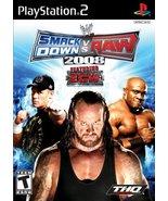 WWE SmackDown vs. Raw 2008 - PlayStation 2 [Pla... - $3.55