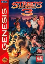Streets Of Rage 3 Sega Genesis Great Condition Fast Shipping - $66.43