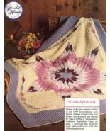 Prize Winning Star Quilt Afghan Crochet Pattern... - £11.47 GBP