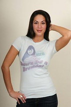 New Authentic Beverly Hills 90210 Don't Be A Brenda Juniors T-Shirt Size... - $15.46