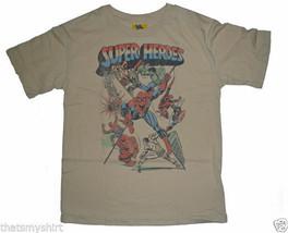 New Authentic Junk Food Marvel Comics Super Heroes Boys T-Shirt - $19.10