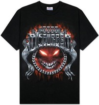New Authentic Mens Disturbed Chrome Smiley Tee Shirt Size Large Clearance - $19.65 CAD