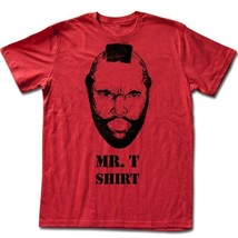 New Authentic Mens Mr. T Shirt Tee Shirt Size Medium Clearance - $18.41