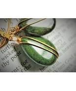 Jasper Gold Earrings - $22.00