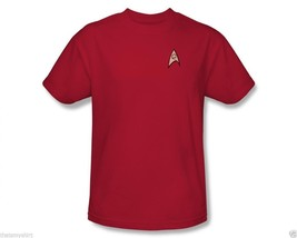 New AuthenticMens Star Trek Engineering Logo T-Shirt Clearance Size Large - $19.36