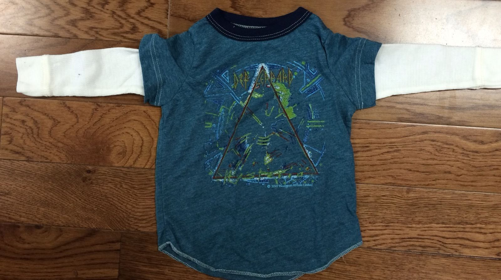 a0003d798 S l1600. S l1600. New Authentic Rowdy Sprout Kids Def Leppard Pyromania  2fer Shirt Rocker Tees