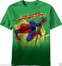 New Authentic The Amazing Spider-Man The Movie Boys T-Shirt - $15.85