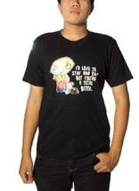 New Authentic The Family Guy Stay and Chat Mens Tee Shirt Size Medium - $18.52 CAD