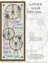 Gather Your Dreams JE043 cross stitch chart Joan Elliott Designs - $14.00