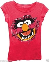T-Shirts Sizes 4-5/6 New Authentic Girls The Muppets Animal Face Tee Shirt - $15.99